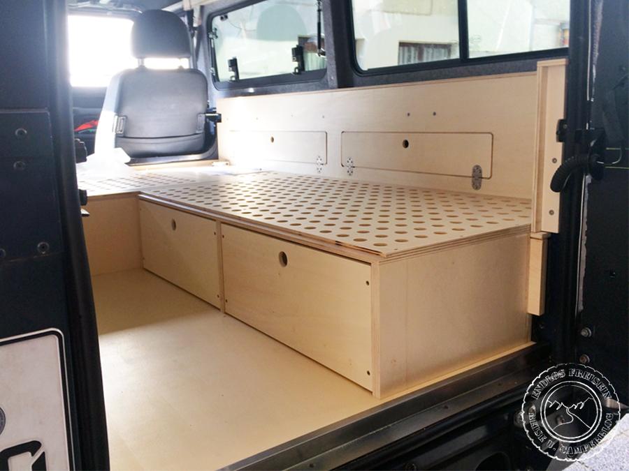 Sitzbank mit Schubladen Reisemobil