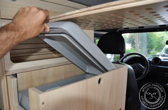 Schmale Kleine Kompressorkühlbox Reisemobil
