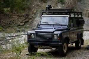 Allrad Reisemobil Land Rover Defender