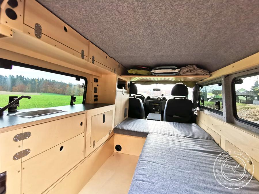 Defender 110 Camper Reisemobil